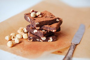 Raw Brownie and Nuts