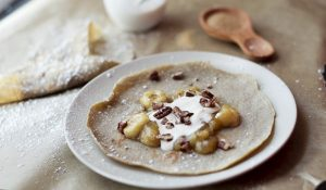 Buckwheat crepe recipe