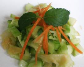 Ginger and Cucumber Salad